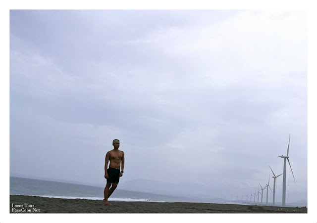 Bangui Wind Farm and the Bangui Bay In Ilocos