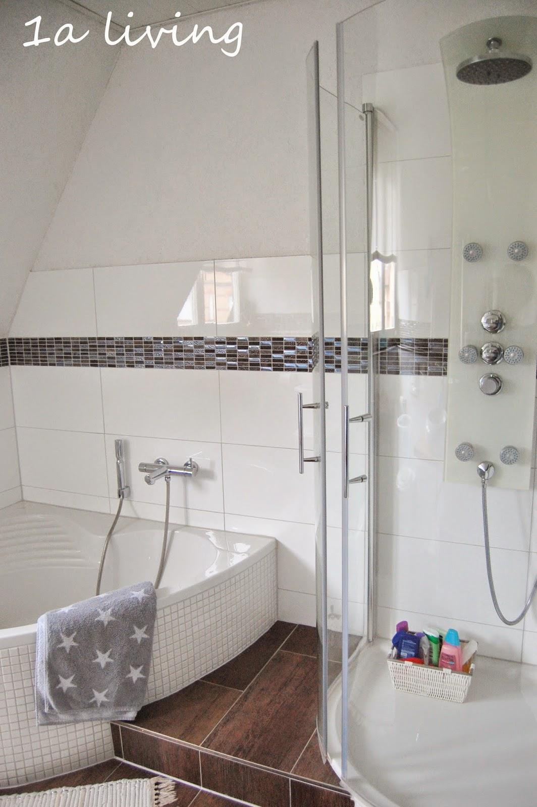 1a living: Die andere Seite vom Bad & ein Blick ins Gäste WC