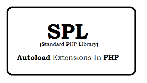 spl autoload extensions in PHP
