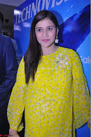 Mannara Chopra Looks Cute in Yellow Salwar Suit ~  Exclusive 07.JPG