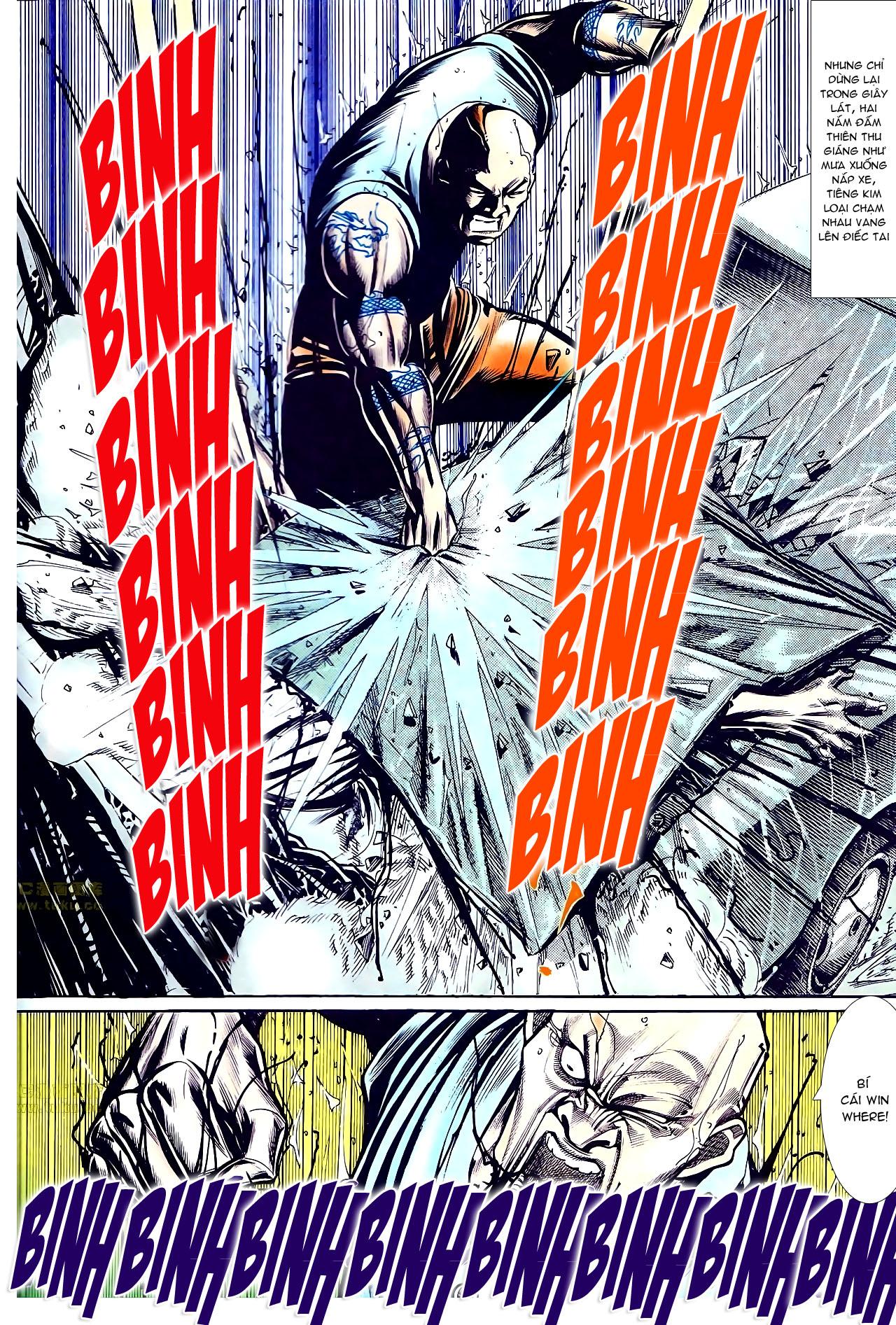 Người Trong Giang Hồ chapter 145: máu thịt tung tóe trang 23