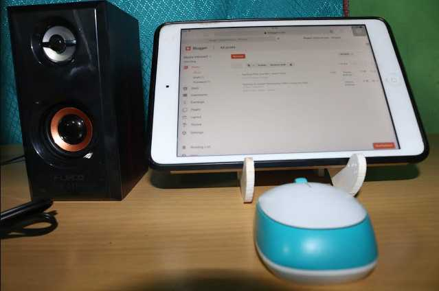 Ngeblog Lewat Ipad Mini Praktis Banget!