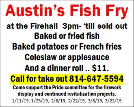 1-25 Fish Fry, Austin Fire Hall