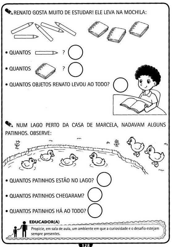 Atividades De Matemática Para Educação Infantil Atividades Pedagógicas