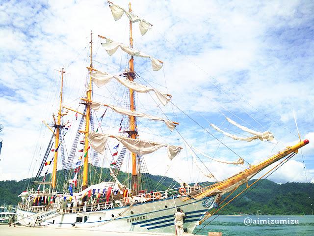 kapal layar tni yang terbesar di indonesia