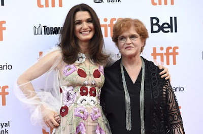 Actress Rachel Weisz with Professor Deborah Lipstadt