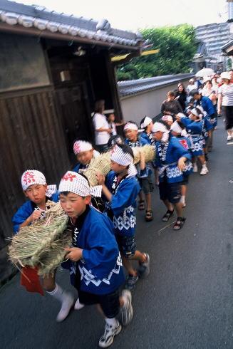 Shaka-shaka Matsuri (farmers parade), Kashihara City, Nara