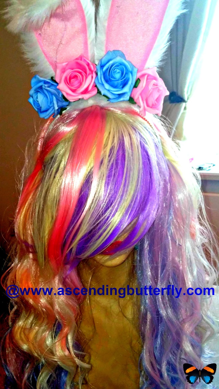 RockStar Wigs Rainbow Rock Collection Spring Bouquet