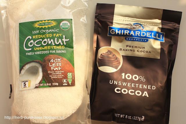 какао кокосовая стружка отзыв купить фото iherb