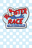 Rooster Race card back designed by Imagine That! Design for Roosterfin Games