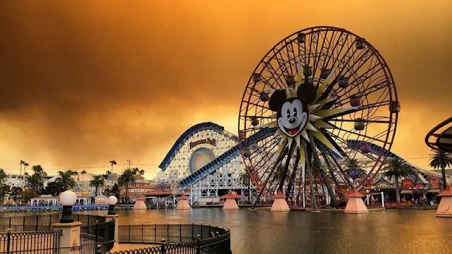 Disneyland em Anaheim