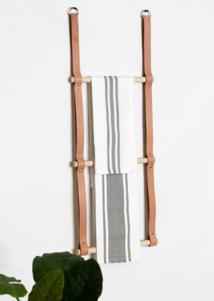 Diy escalera-estante de diseño