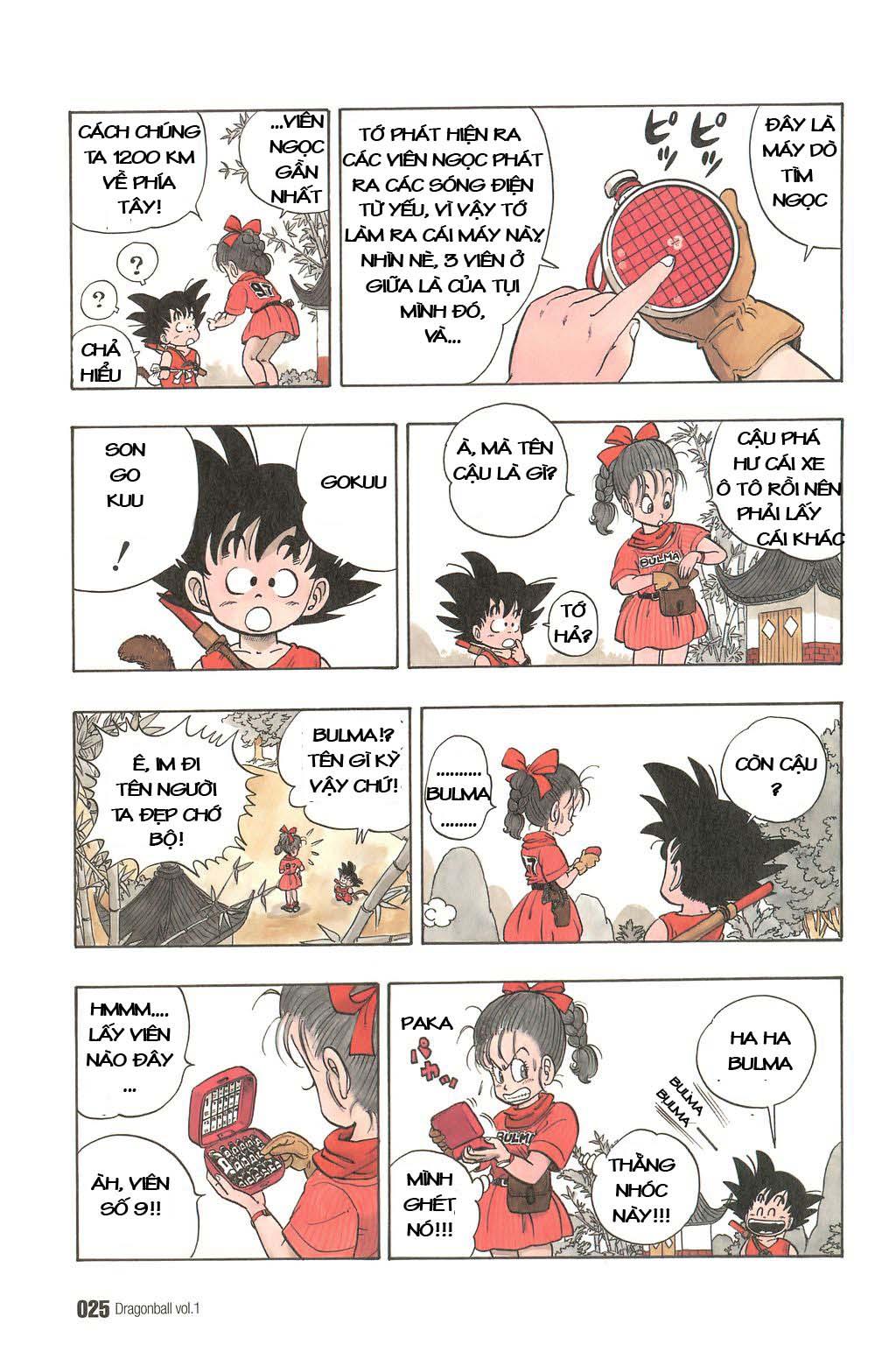 Dragon Ball chap 1 trang 28