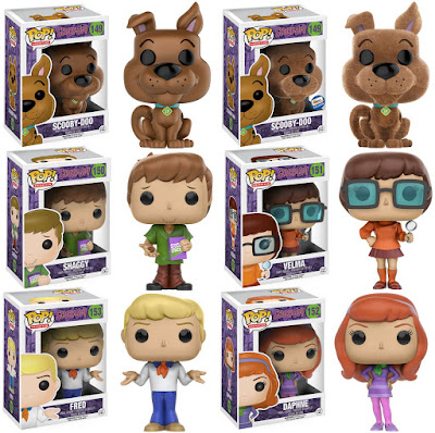 Scooby Doo Pop! Animation Series by Funko - Scooby Doo, Shaggy, Fred, Daphne & Velma