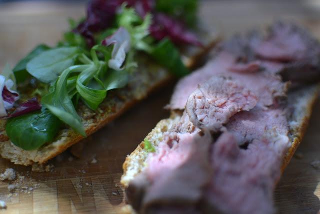Receta fácil de bocata de Roast Beef 04