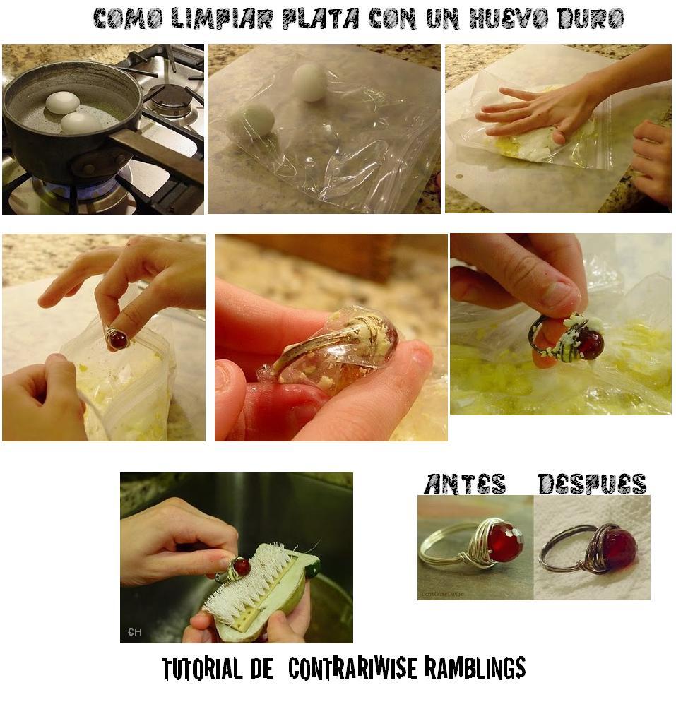 Enrhedando manualidades - Con que limpiar la plata ...