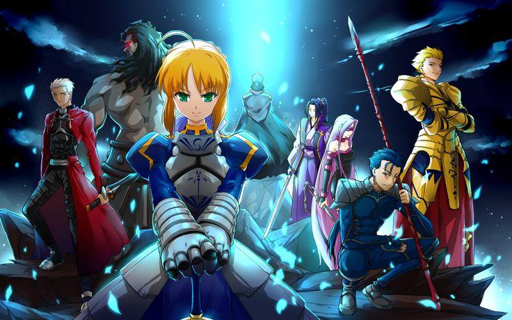 Panduan Cara Nonton Anime Fate Series | Eighteen Shared