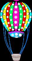 Balão - Criação Blog PNG-Free