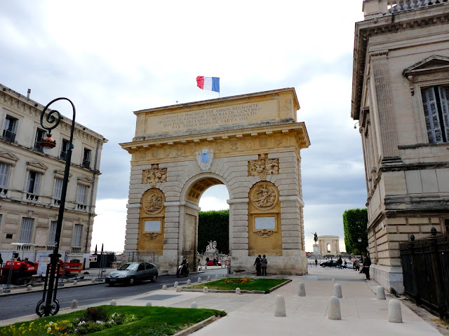 Arc de Triomphe, Montpellier, France