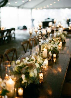 candele matrimonio eco