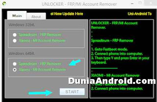 Mi account remover software