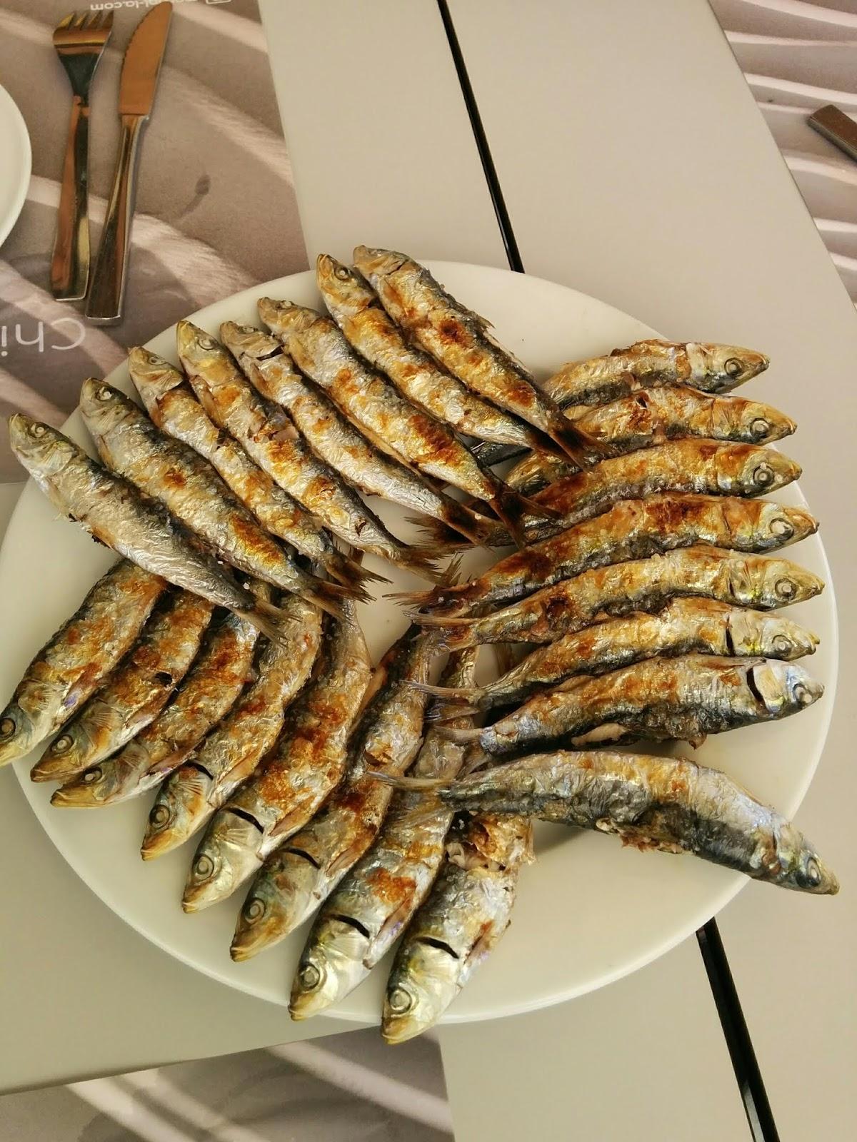 sardines espetos malaga spain