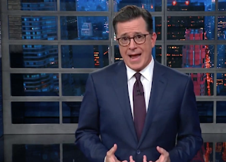 Stephen Colbert Calls Out Jeff Flake for Taking His 'Balls' and 'Going Home'