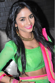Actress Pooja Sri Pictures at Dandiya Navrang Utsav 2016 Curtain Raiser Event  0010.JPG