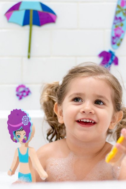 Kids Bath Time Water Toys Fun
