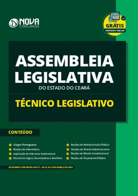 Apostila Técnico Legislativo Assembleia Legislativa CE 2020 PDF e Impressa