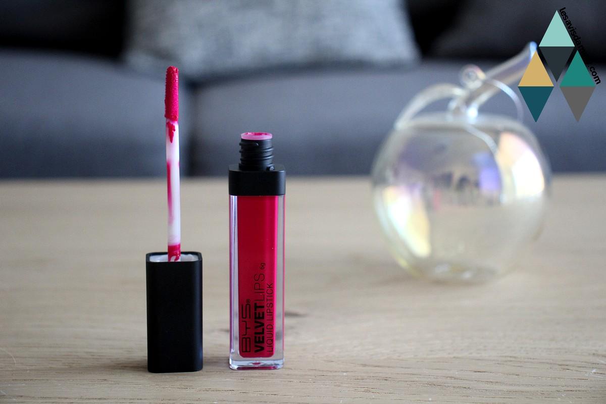 avis pink alike rouge à lèvres velours mat BYS