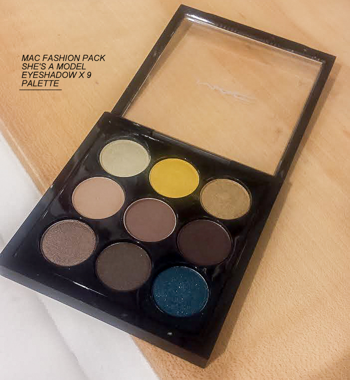 MAC Fashion Pack Collection Eyeshadow x 9 Palettes - Shes a Model