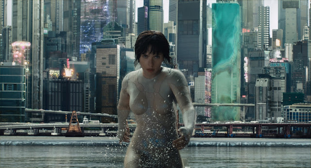 Ghost In the Shell, starring Scarlett Johansson