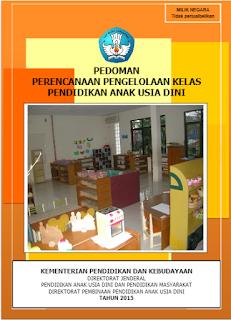 Buku Pedoman Perencanaan Pengelolaan Kelas PAUD