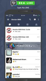 BBM MOD TEMA LINE VERSI 2.12.0.9
