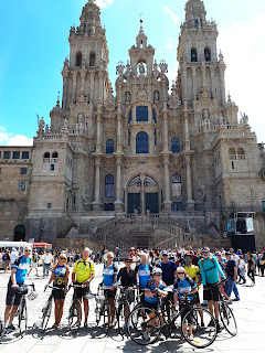 Cycling The Camino in Spain and bike to Santiago de Compostela