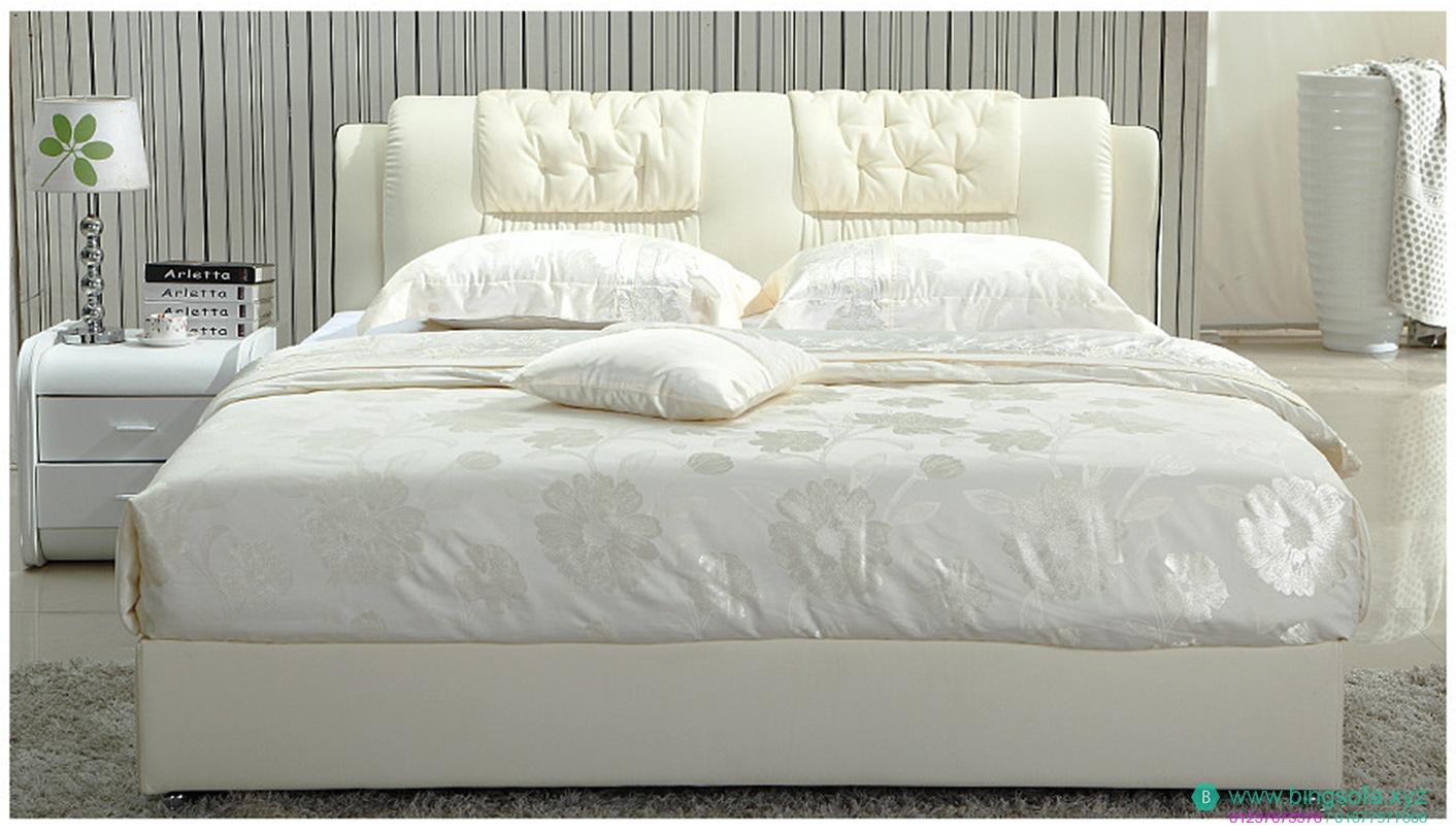 Giường ngủ bọc nệm hiện đại GN10