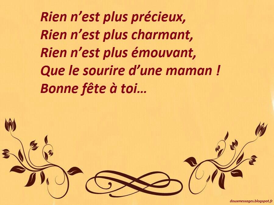 Texte Pour La Fête Des Mères Textes Pour Sa Maman