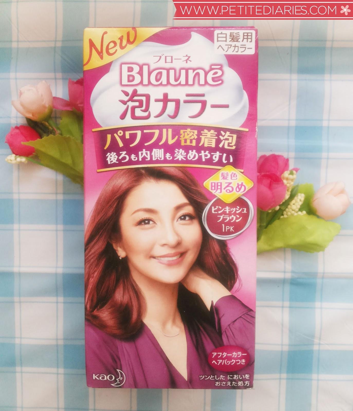 Review kao blaune japanese bubble hair color in 01 pk pink brown kao blaune 01 pk pink brown nvjuhfo Choice Image