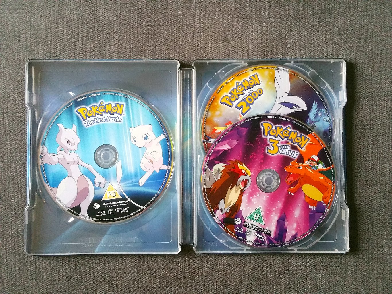 Pokemon 20 anniversary, Pokemon Movie Collection Limited Edition, Pokemon Christmas