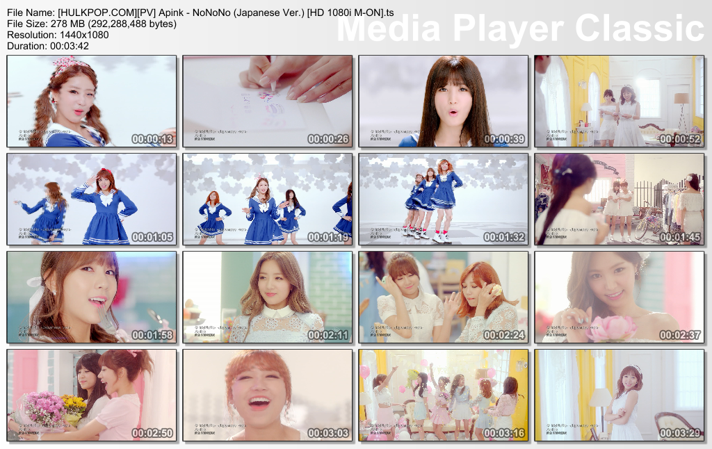 [PV] Apink – NoNoNo (Japanese Ver.) [HD 1080i M-ON]