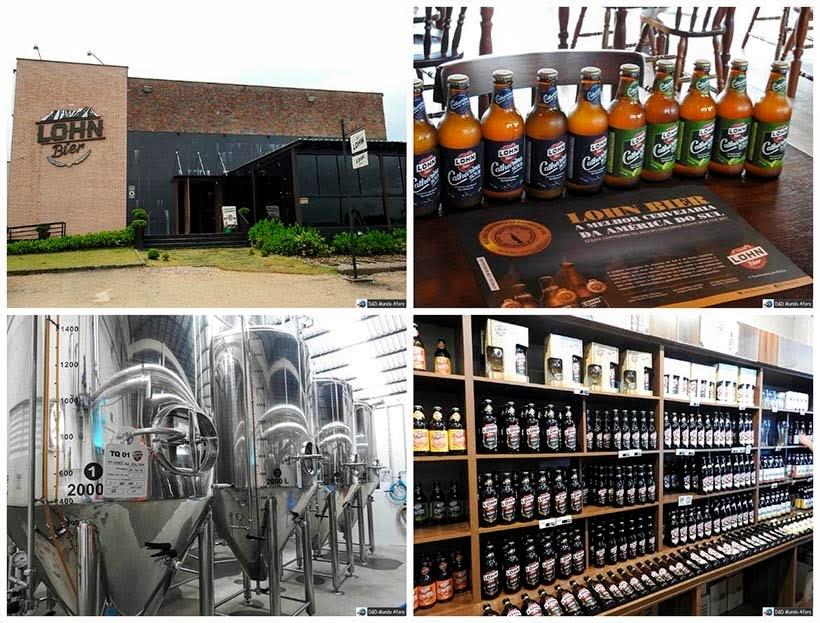 O que fazer em Orleans, Santa Catarina - cervejaria Lohn Bier
