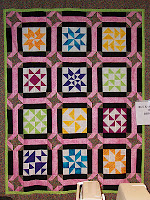 """Buck a Block"" quilt that I made for the shop."