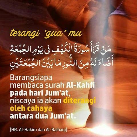 Kelebihan baca surah Al-Kahfi