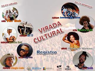 Virada Cultural Paulista 2018 em Registro-SP