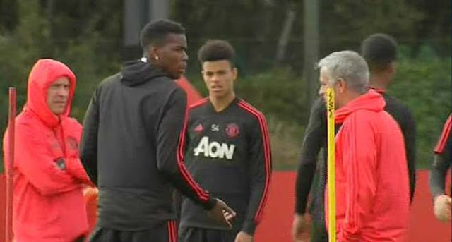 MU căng thẳng leo thang: Mourinho ra tối hậu thư chọn ông hoặc Pogba 1