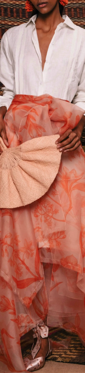 Johanna Ortiz Sparkling Sand Wrap Skirt