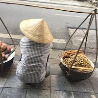 ハノイの野菜売りさん