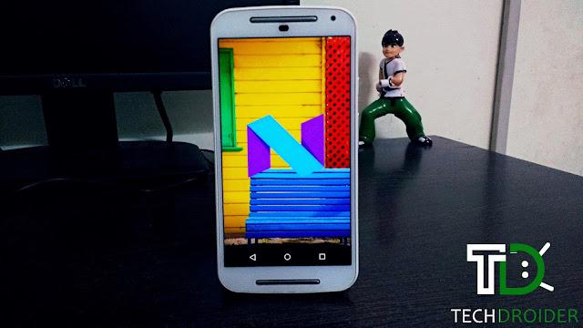 Android N Nougat for Motorola Moto G 2nd Generation