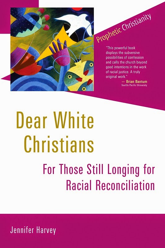 Dear White Christians by Jennifer Harvey. Book cover
